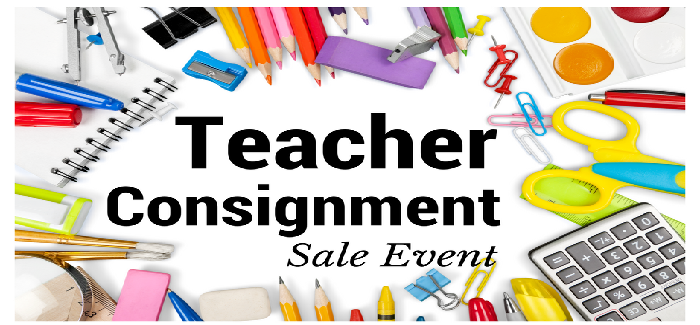 We are just a couple of months away from our Teacher Consignment Sale Event THIS August