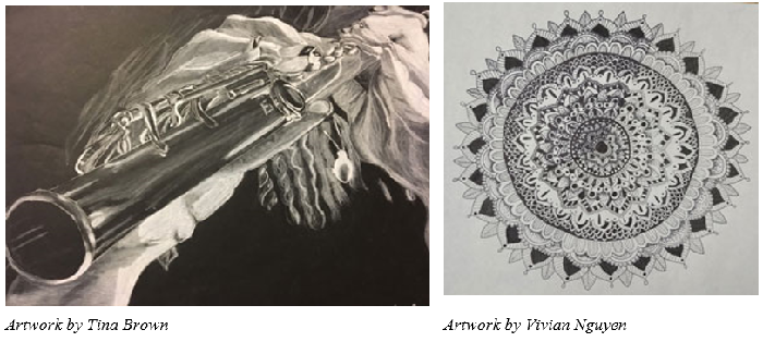 Central High Artwork Accepted into Betsy Price Competition