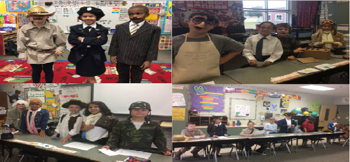 WSES Second-Graders Host Living Museum