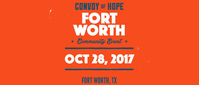 Convoy of Hope rolls into Fort Worth