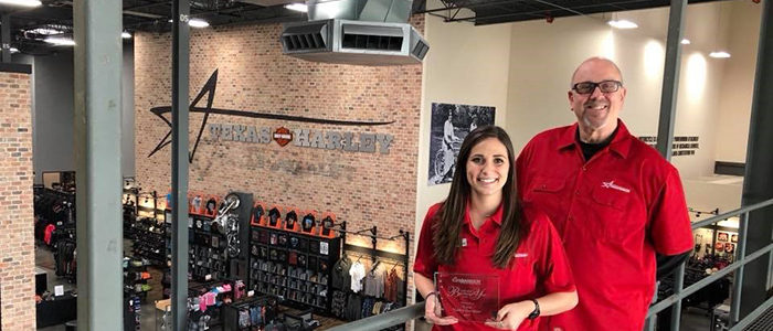 Bedford: Texas Harley-Davidson Awarded Chamber of Commerce Mid-Size Business of the Year