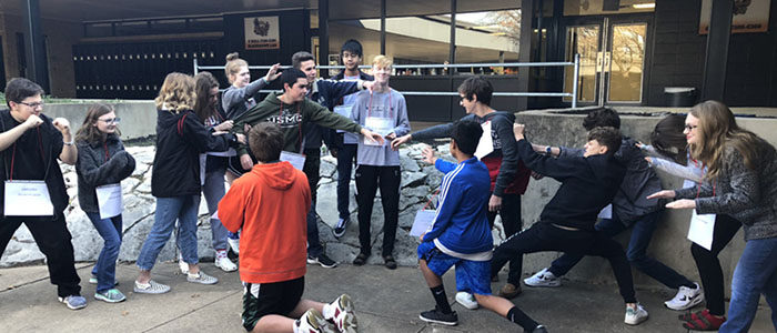 HEB ISD: Harwood Pre-AP English Classes Create Romeo and Juliet Tableaus