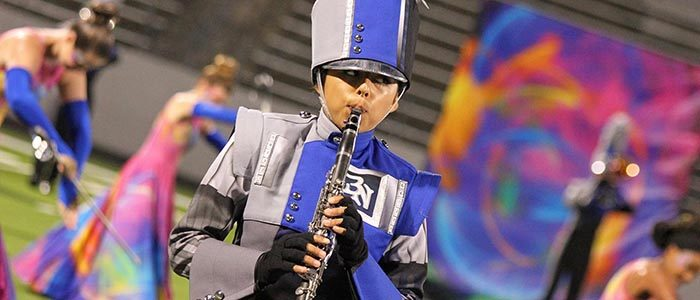Northwest ISD bands each receive top score at regional marching contest