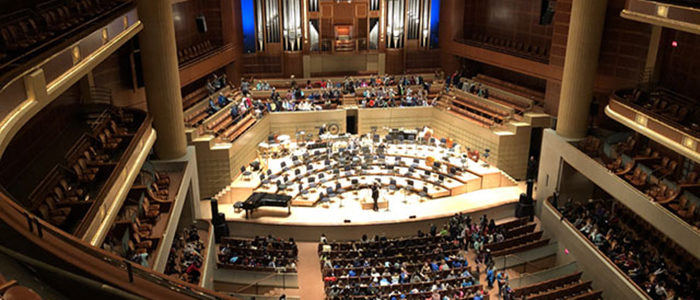 HEB ISD: Suzuki Strings Students Attend a Dallas Symphony Orchestra Concert