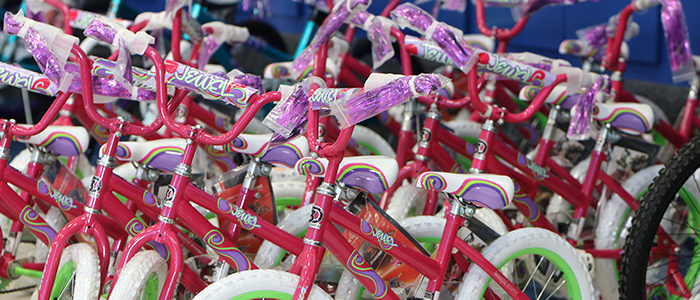 BISD: Haltom City Business Donates 130 New Bicycles To Local Elementary Students