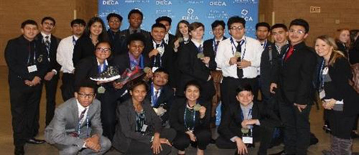 Irving ISD: DECA Competitors Advance to State