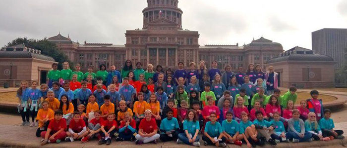 CISD: Rockenbaugh Elementary Fourth Graders Travel to Waco and Austin on an Education in Action Discover Texas Field Trip