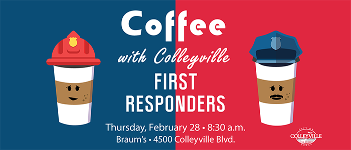 Coffee with Colleyville First Responders