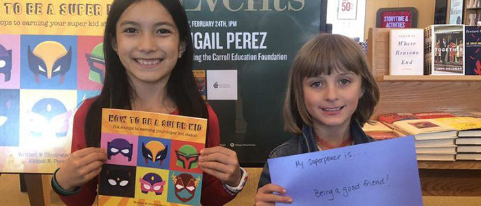 CISD: Super Kid Author Partners with CEF to Fund a Teacher