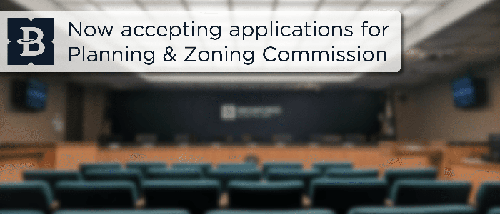 Bedford: Apply for Planning & Zoning Commission