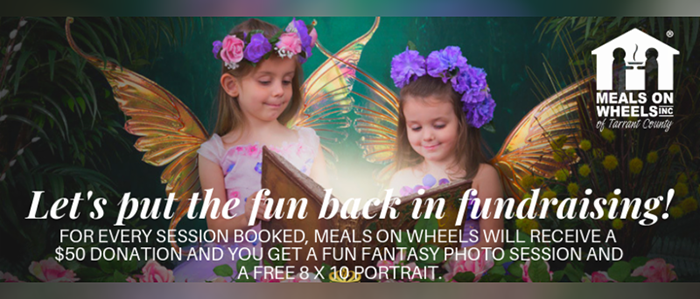 Let your fairies shine and slay some dragons for Meals On Wheels!