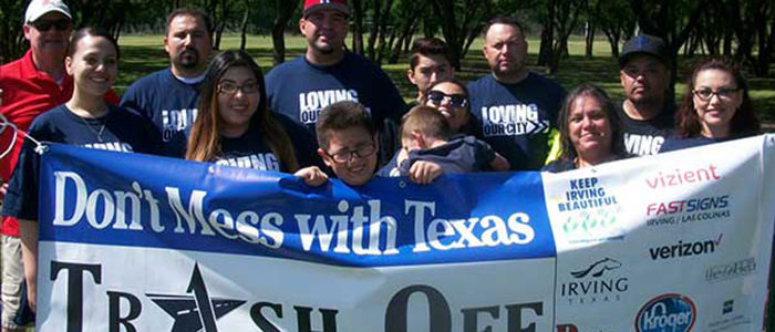 Irving: Volunteers Needed for Texas Trash-Off