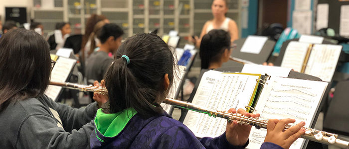 GCISD Accepting Instrument Donations