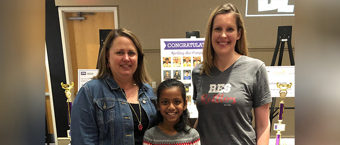 KISD: Ridgeview 3rd Grader Places 3rd At Regional Spelling Bee