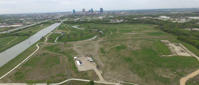 Fort Worth: Progress continues at Gateway Park