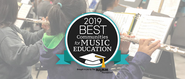 GCISD Receives National Music Education Honor