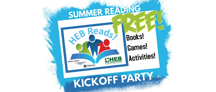 HEB Reads! Party is May 4, and You're Invited!