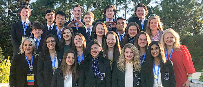 GCISD: Four Among World's Best at DECA Conference
