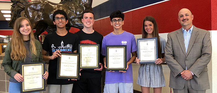 GCISD: 6 Students Named as NSDA Academic All-Americans
