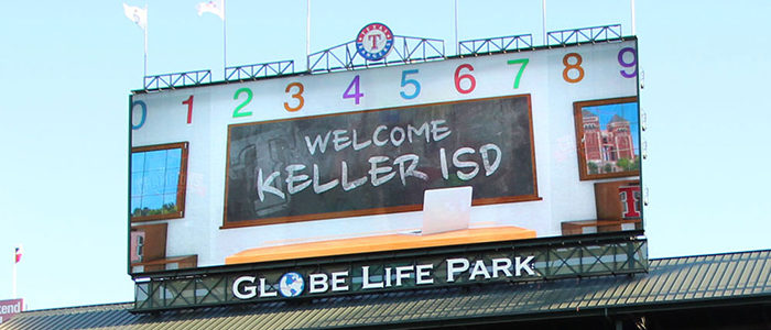 Join Keller ISD Family and Friends for Night at the Rangers May 17