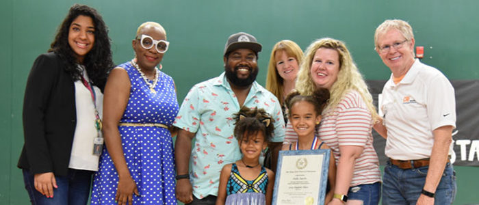 KISD: HES 3rd Grader Named State Board Of Education Student Hero