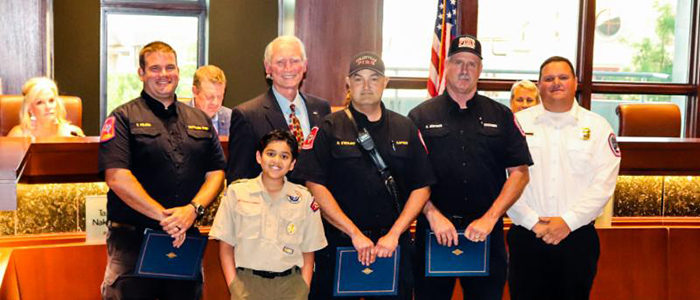 Colleyville: Firefighters Honored with Medal of Valor