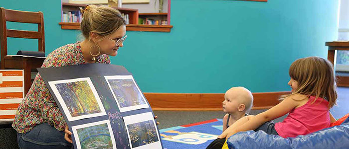 Fort Worth: Making an impression — Library and Kimbell team up for Monet activities
