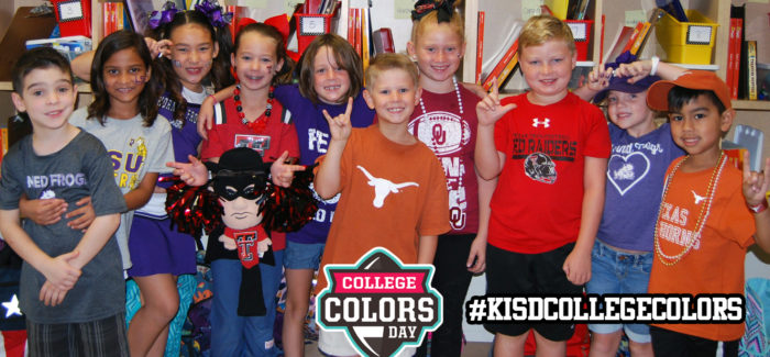 Keller ISD Hosts College Colors Day Wednesday, August 28