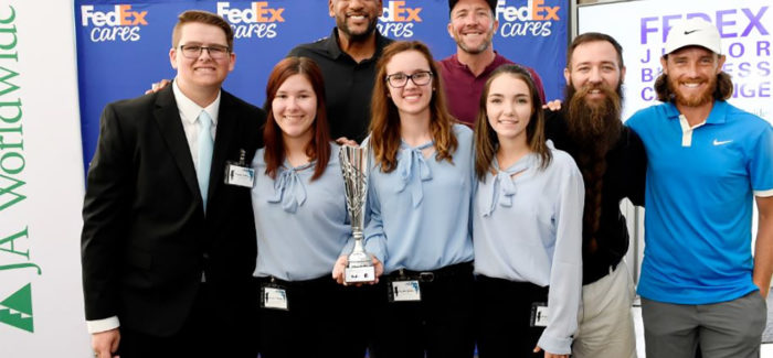 Eaton student business group wins national FedEx challenge