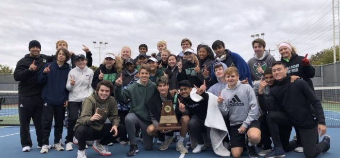 Dragon Tennis Punches Ticket to UIL State Tournament