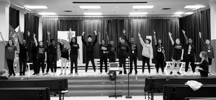 Sing Along at Collegiate Academy and High School's  High School Musical Jr. Production