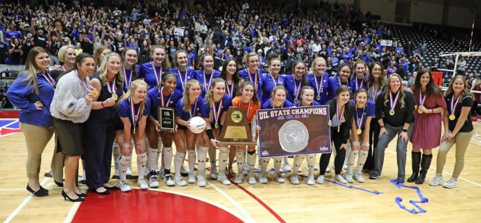 Byron Nelson wins 2019 UIL 6A Volleyball State Championship