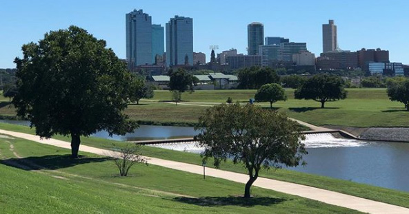 Fort Worth is golden. Scenic City Gold, that is.