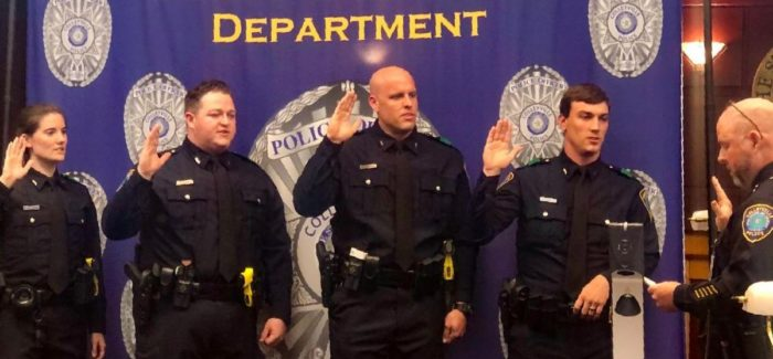Colleyville Police Department Welcomes New Recruits