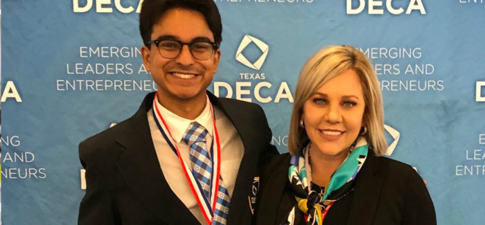 GCISD – Student Elected as State President Highlights DECA