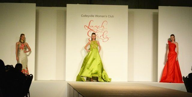 Colleyville Woman's Club Lunch with the Girlz – April in Paris Annual Fashion Show & Luncheon Benefit