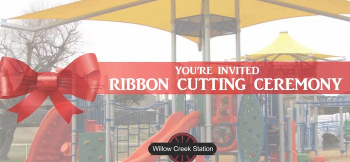 Saginaw – Grand Opening/Ribbon Cutting of Willow Creek Station – February 7th