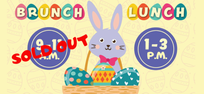Bunny Lunch Tickets Still Available