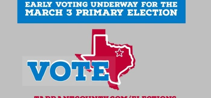 Tarrant County – Catch a Free Ride to the Polls