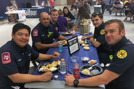 KISD – First responders in the Keller ISD community are invited to enjoy a free meal at any school in the District the week of February 10-13.
