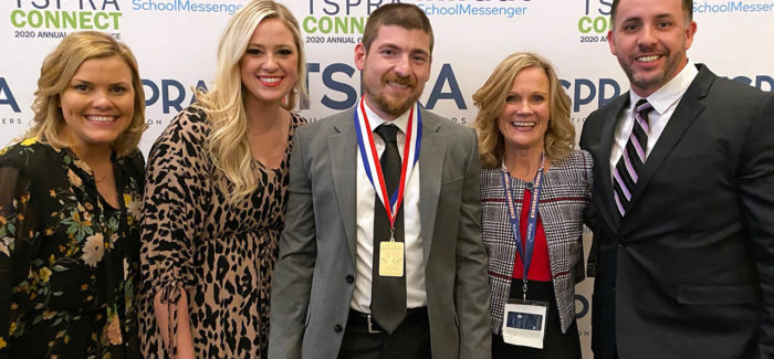 District communication, foundation teams earn 10 awards from professional association