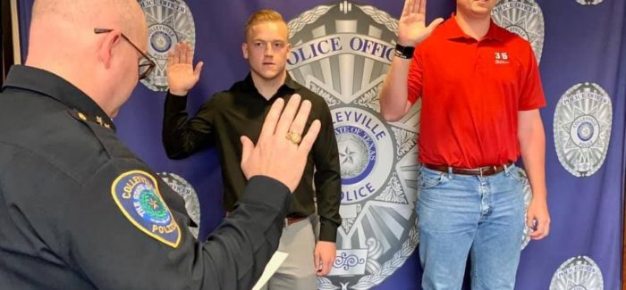 Police Department Swears in Two New Officers