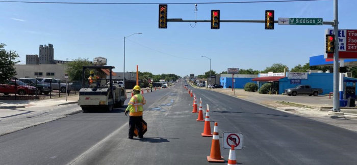 Fort Worth Hemphill Street project nearing completion