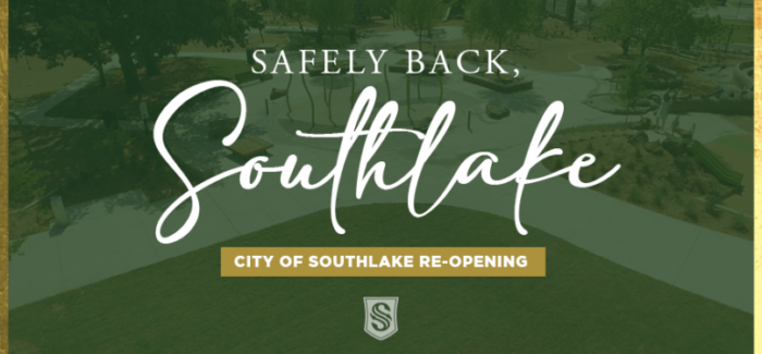 Southlake – Governor Abbott Announces More Re-Opening Orders